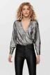 ONLY® Blouses (lange mouwen) zilver 15190221_SILVER img1
