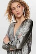 ONLY® Blouses (lange mouwen) zilver 15190221_SILVER img4