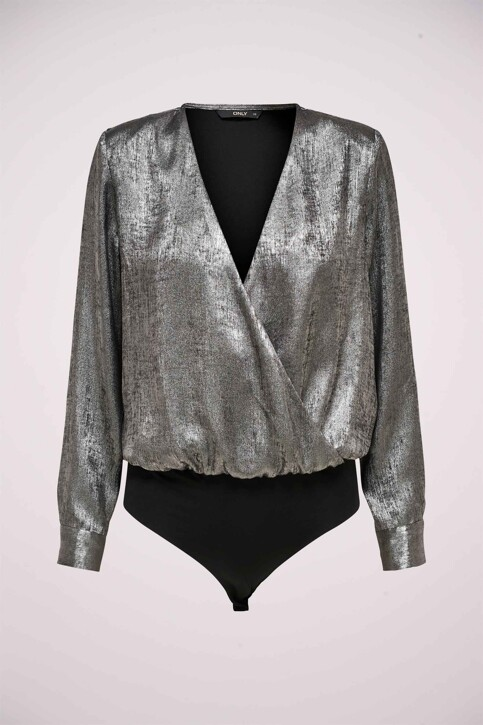 ONLY® Blouses (lange mouwen) zilver 15190221_SILVER img6