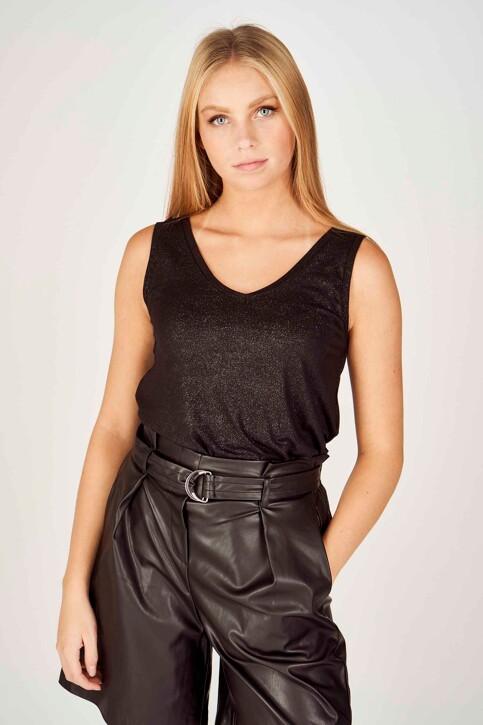 ONLY® Tops (zonder mouwen) zwart 15192022_BLACK SILVER img1