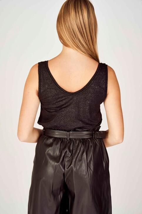 ONLY® Tops (zonder mouwen) zwart 15192022_BLACK SILVER img3