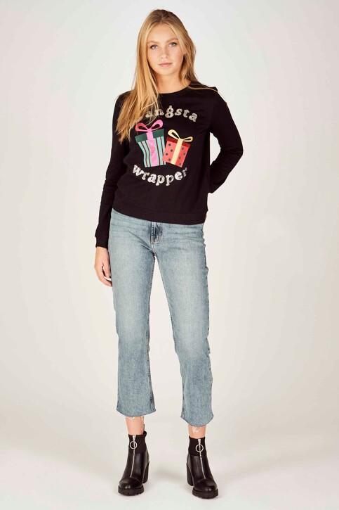 ONLY® Sweaters met ronde hals zwart 15198497_BLACK img2
