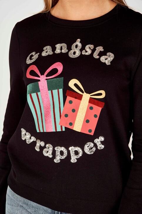 ONLY® Sweaters met ronde hals zwart 15198497_BLACK img4