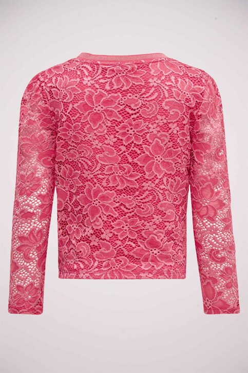 ONLY® T-shirts manches longues rose 15199137_CLARET RED img2