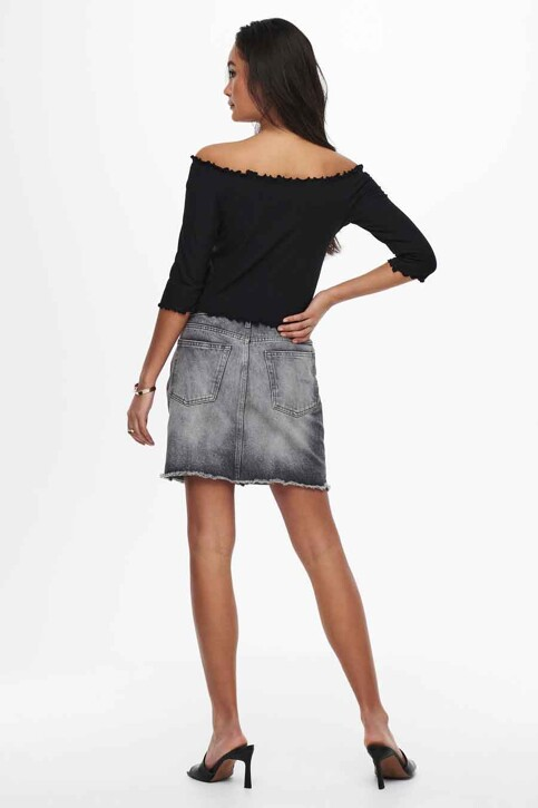 ONLY® T-shirt zwart 15214131_BLACK img3