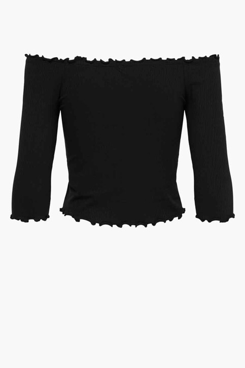 ONLY® T-shirt zwart 15214131_BLACK img5