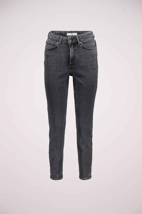 JACQUELINE DE YONG Jeans straight zwart 15216501_BLACK DENIM img1