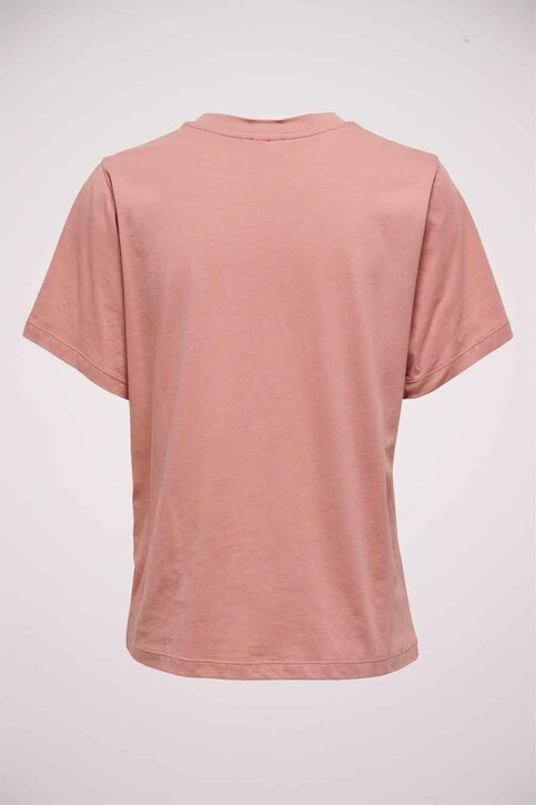 JACQUELINE DE YONG T-shirts (korte mouwen) roze 15222019_OLD ROSE SOHO img2