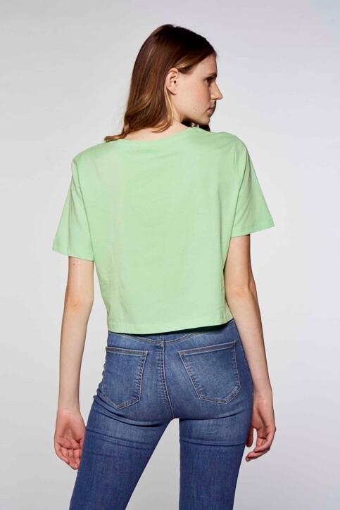 JACQUELINE DE YONG T-shirts (korte mouwen) groen 15226078_GREEN ASH TOMOR img2