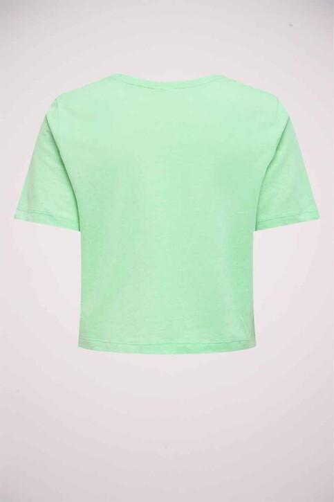 JACQUELINE DE YONG T-shirts (korte mouwen) groen 15226078_GREEN ASH TOMOR img5