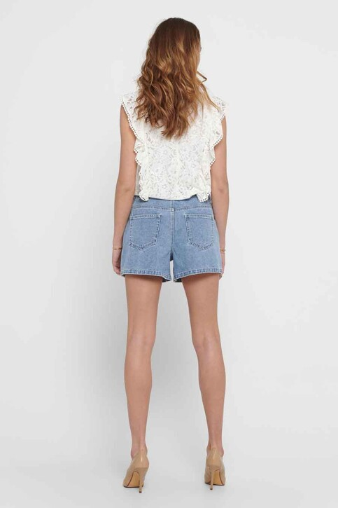 ONLY® Shorts denim 15226947_LIGHT MEDIUM BL img3