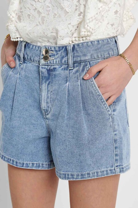 ONLY® Shorts denim 15226947_LIGHT MEDIUM BL img4