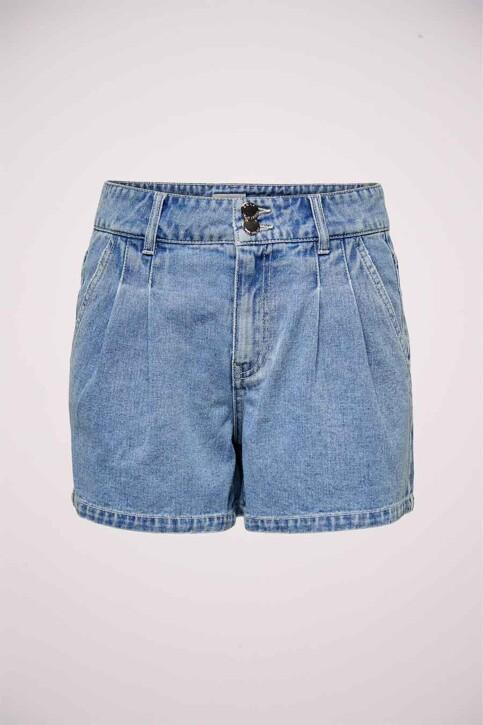 ONLY® Shorts denim 15226947_LIGHT MEDIUM BL img6