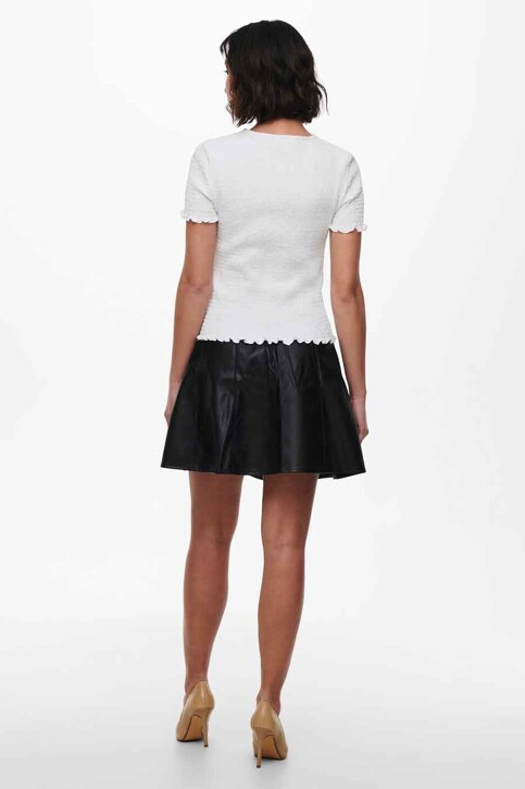 ONLY® Tops (korte mouwen) wit 15227074_BRIGHT WHITE img3