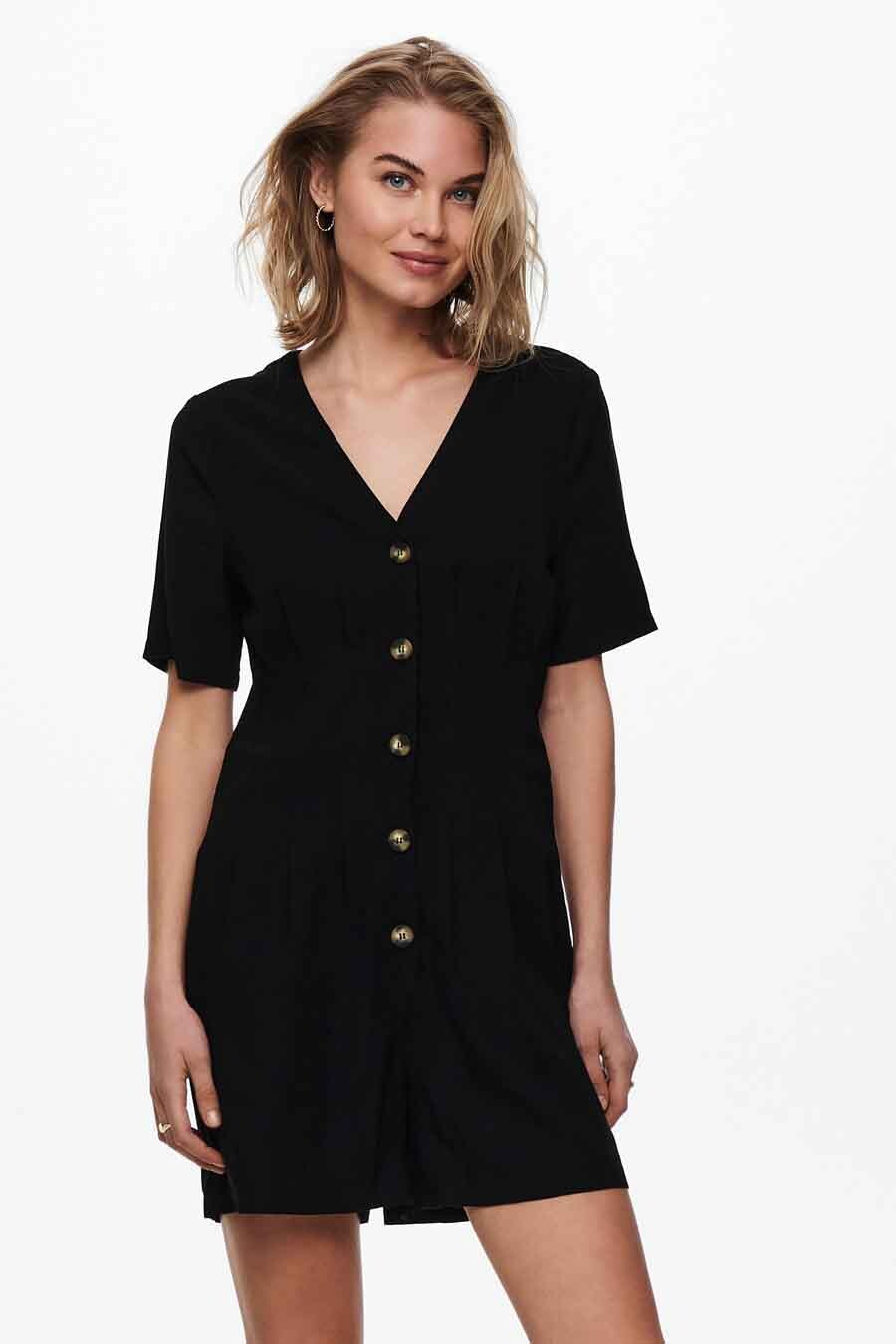 ONLY® Playsuit, Zwart, Dames, Maat: L/M/S/XS