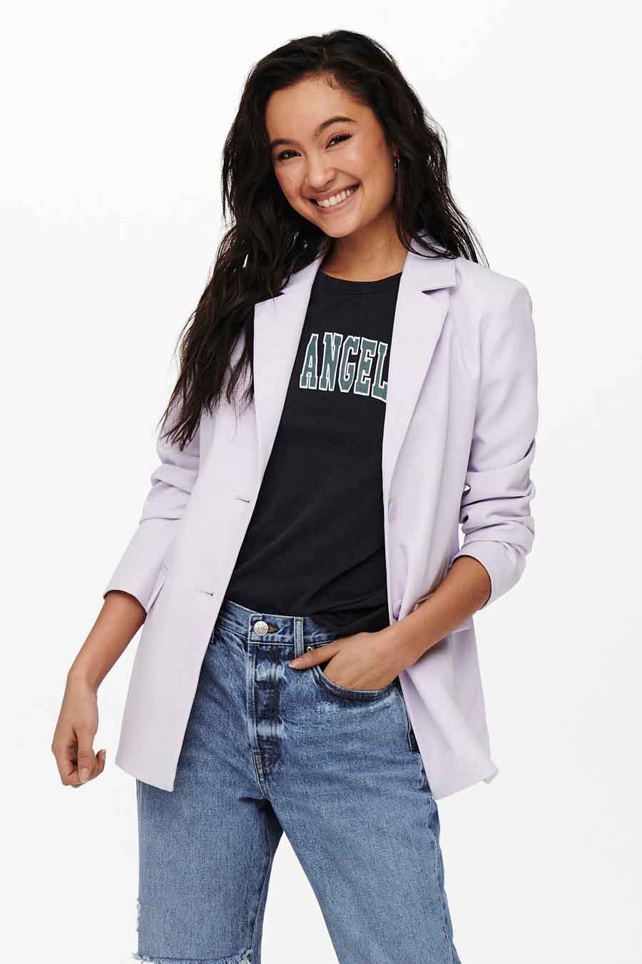 ONLY® Blazer, Wit, Dames, Maat: 38/40