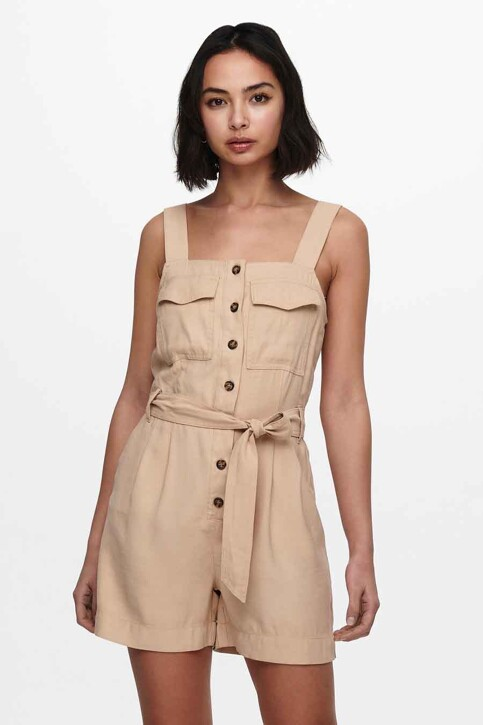 ONLY® Playsuits beige 15229327_GINGER ROOT img2
