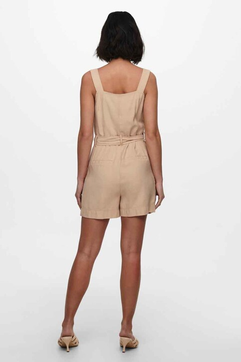 ONLY® Playsuits beige 15229327_GINGER ROOT img3