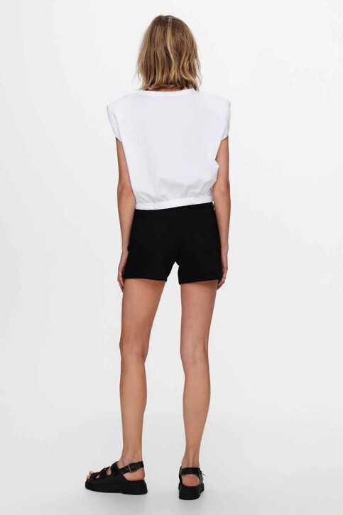 ONLY® Tops (korte mouwen) wit 15230597_BRIGHT WHITE img2