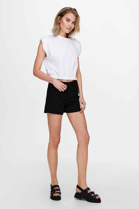 ONLY® Tops (korte mouwen) wit 15230597_BRIGHT WHITE img5