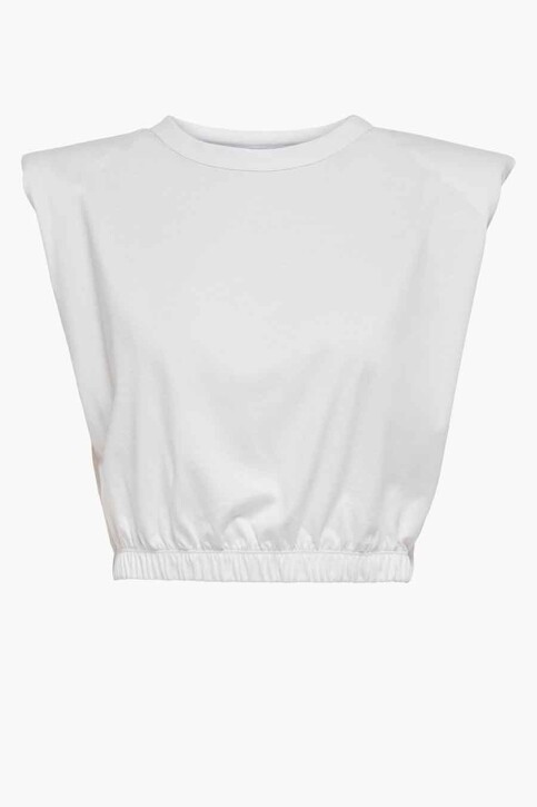 ONLY® Tops (korte mouwen) wit 15230597_BRIGHT WHITE img6