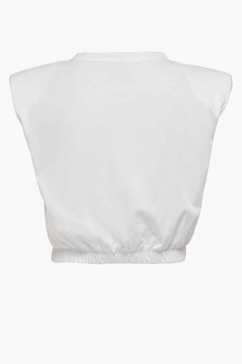 ONLY® Tops (korte mouwen) wit 15230597_BRIGHT WHITE img7