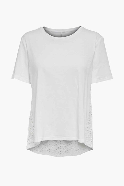 ONLY® Tops (korte mouwen) wit 15230736_BRIGHT WHITE img1