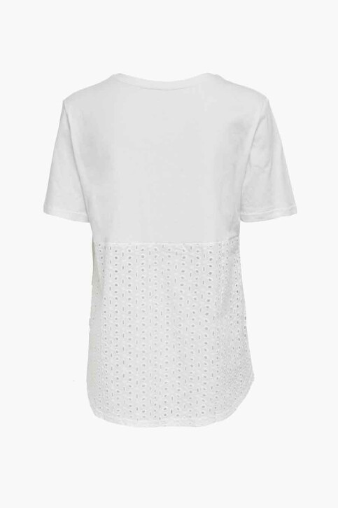 ONLY® Tops (korte mouwen) wit 15230736_BRIGHT WHITE img2