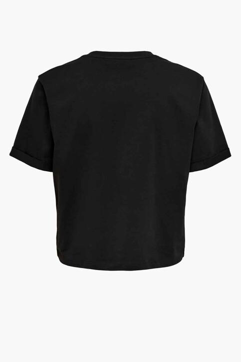 ONLY® T-shirts (korte mouwen) zwart 15236117_BLACK MAKE YOUR img2