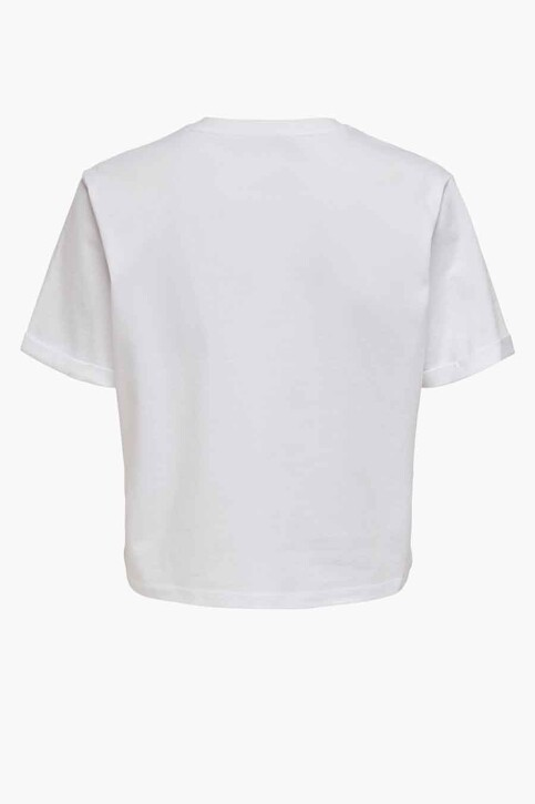 ONLY® T-shirts (korte mouwen) wit 15236117_WHITE YOURE KIN img2