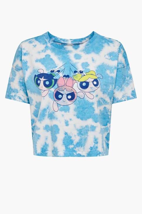 ONLY® T-shirts (korte mouwen) wit 15236917_WHITE TIE DYE W img1