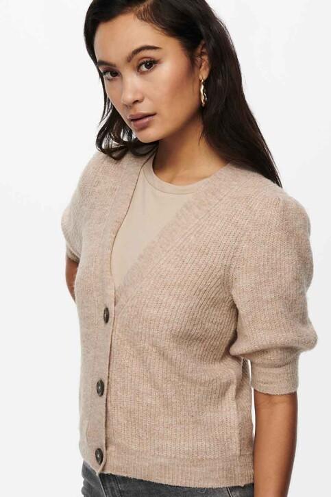 JACQUELINE DE YONG Cardigans beige 15238249_BEIGE MELANGE img4