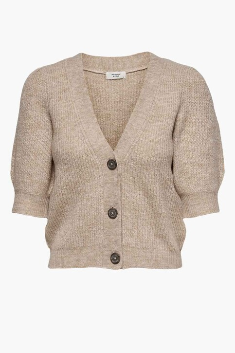 JACQUELINE DE YONG Cardigans beige 15238249_BEIGE MELANGE img5