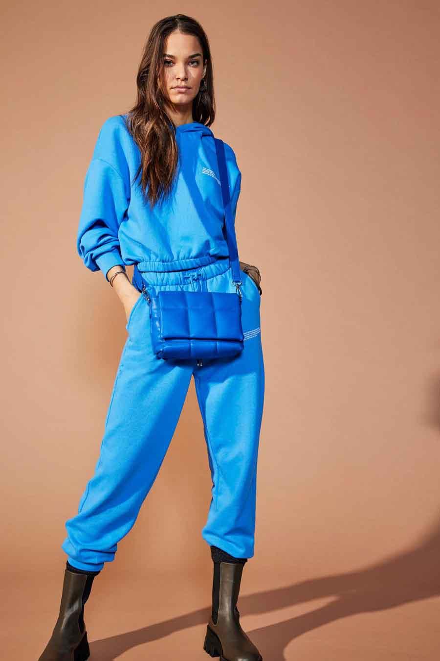 ONLY® Joggingbroek, Blauw, Dames, Maat: XS/S/L