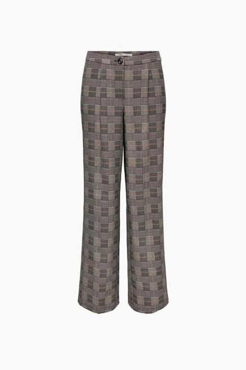 ONLY® Pantalons de costume brun 15243151_BLACK BROWN BLA img1