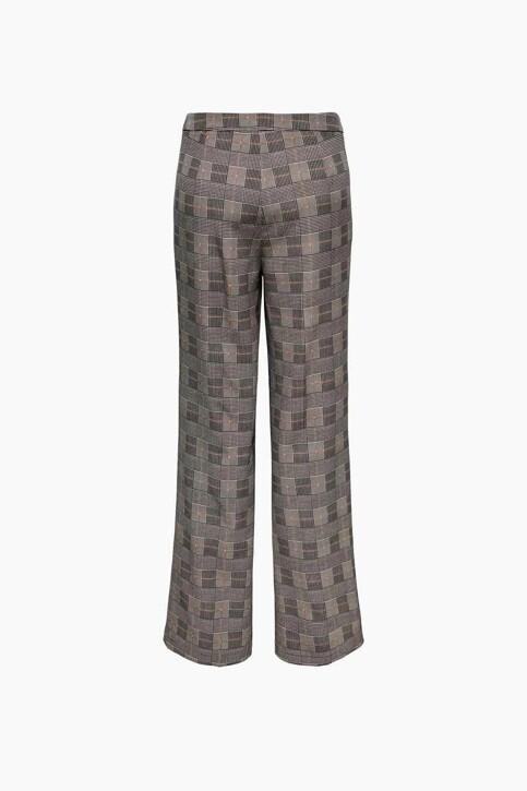 ONLY® Pantalons de costume brun 15243151_BLACK BROWN BLA img2
