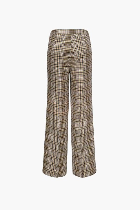 ONLY® Pantalons de costume brun 15243151_BLACK BROWN BLA img3