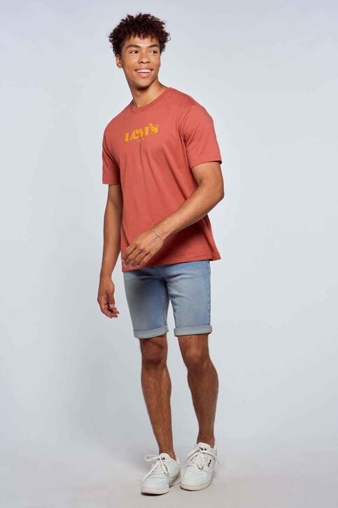 Levi's® T-shirts (manches courtes) rouge 161430318_0318 MARSALA img1