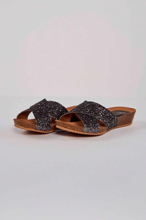 HEE SHOES Sandales gris 17080 GLITER_PLOMO img1
