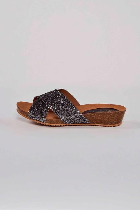 HEE SHOES Sandales gris 17080 GLITER_PLOMO img2