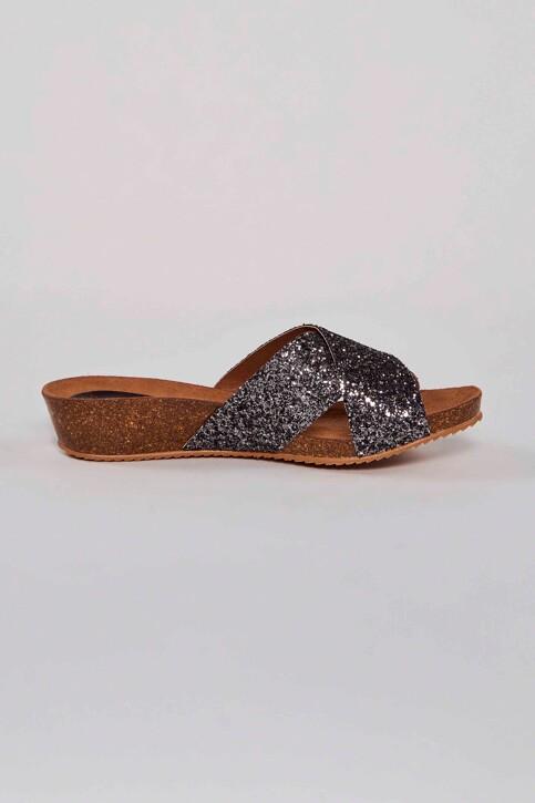 HEE SHOES Sandales gris 17080 GLITER_PLOMO img3