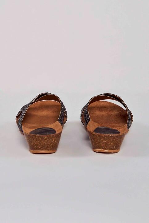 HEE SHOES Sandales gris 17080 GLITER_PLOMO img4