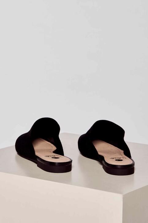 La Strada Slippers zwart 2001051ZB_BLACK KNITTED img4