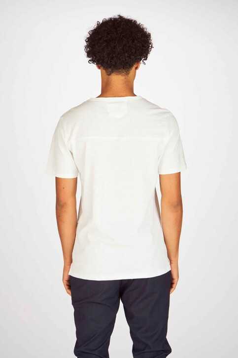 Casual Friday T-shirts (korte mouwen) wit 20502453_50104BRIGHT WH img2