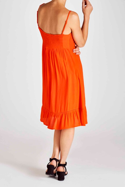 Fransa® Robes 3/4 rouge 20605978_60121 FIERY RED img3