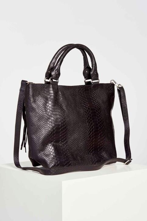 Legend Handtassen zwart 2103 AYAS_SNAKE BLACK img1