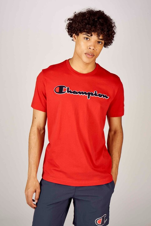 Champion® T-shirts (korte mouwen) rood 212946RS010RIR_RS010 RIR img1