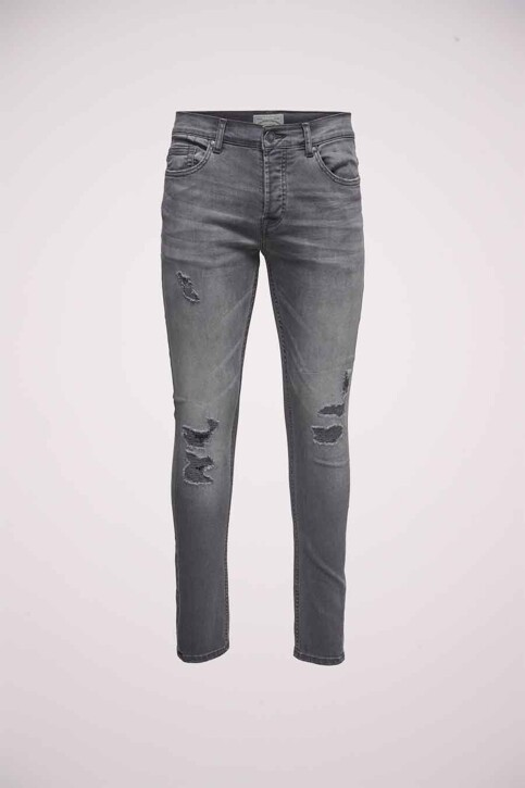 ONLY & SONS® Jeans tapered denim 22010440_0440GREY REPAI img5