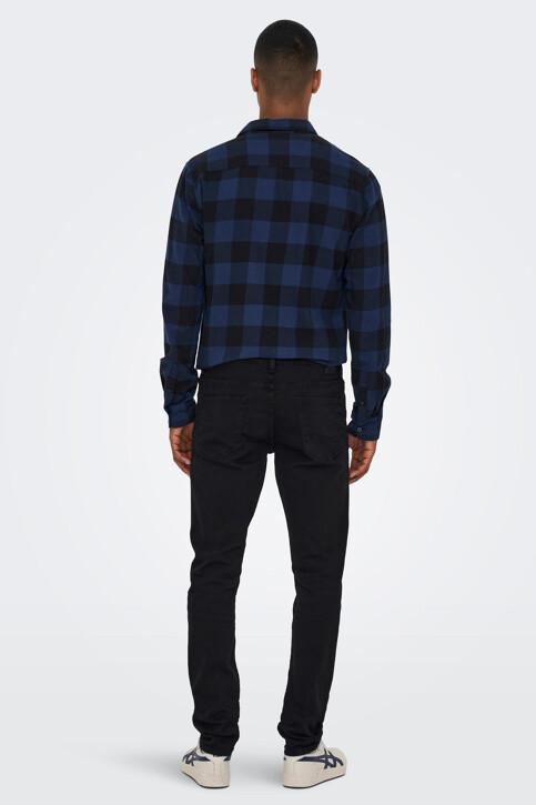 ONLY & SONS® Jeans slim zwart 22010448_BLACK DENIM img3
