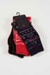 ONLY & SONS® Chaussettes 22011453_BLACK AOP img2